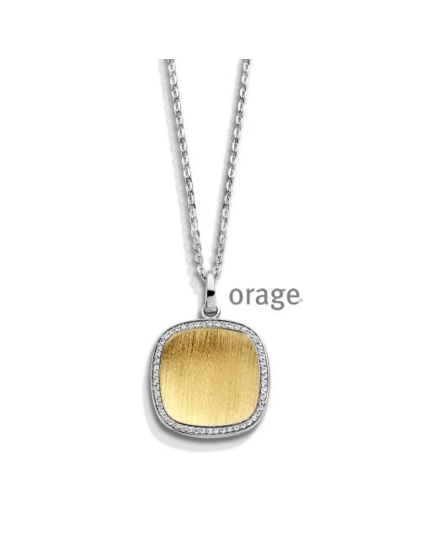 Orage Orage AM024 Halsketting Zilver