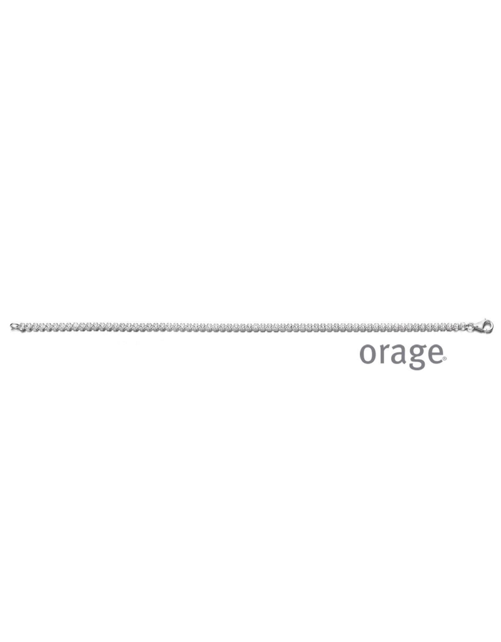 Orage Orage AM062 Armband Zilver Zirkonia
