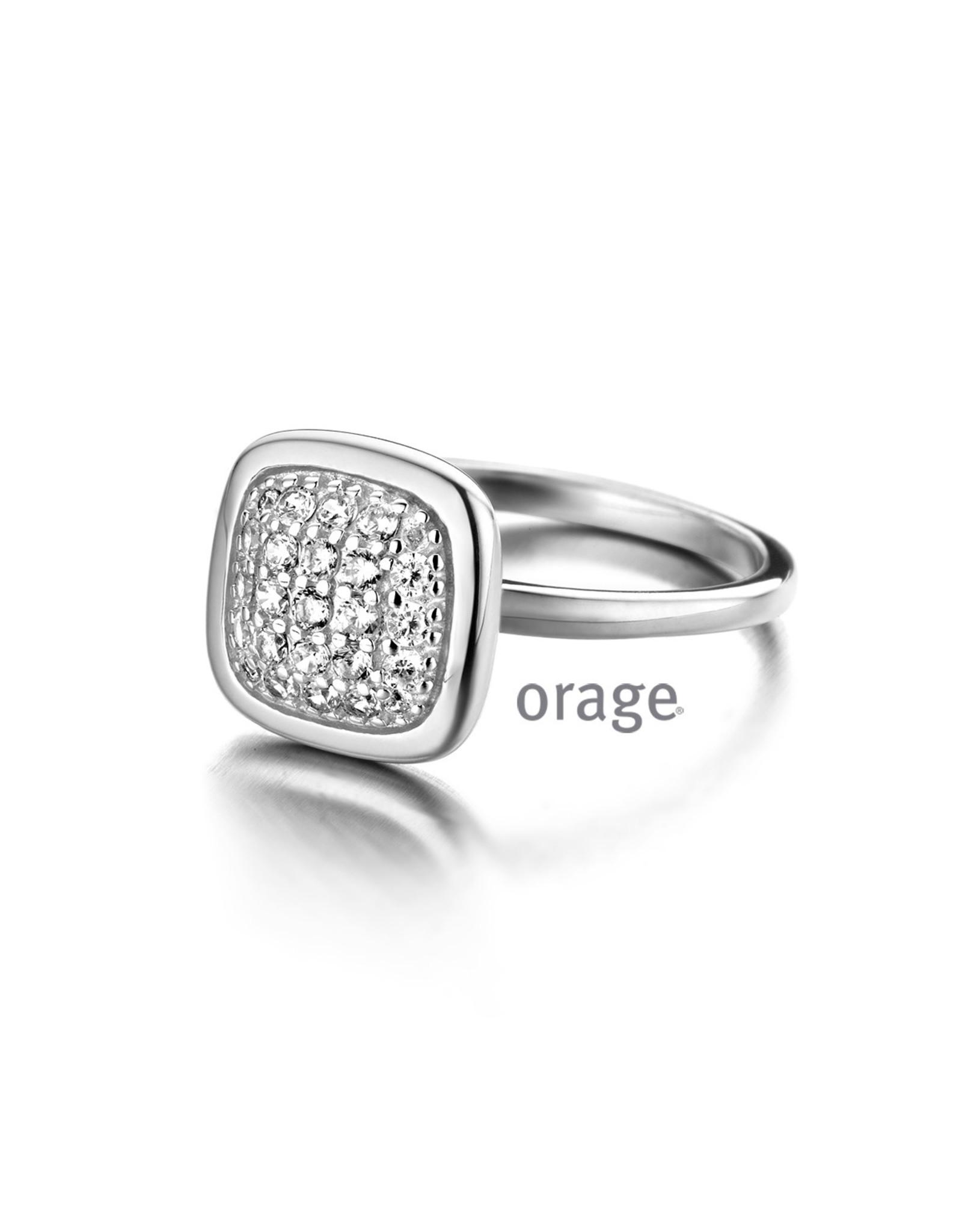 Orage Orage AM003-52 Ring Zilver Zirkonia