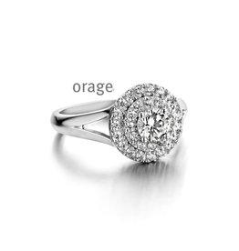 Orage Orage AM114-56 Ring Zilver Zirkonia