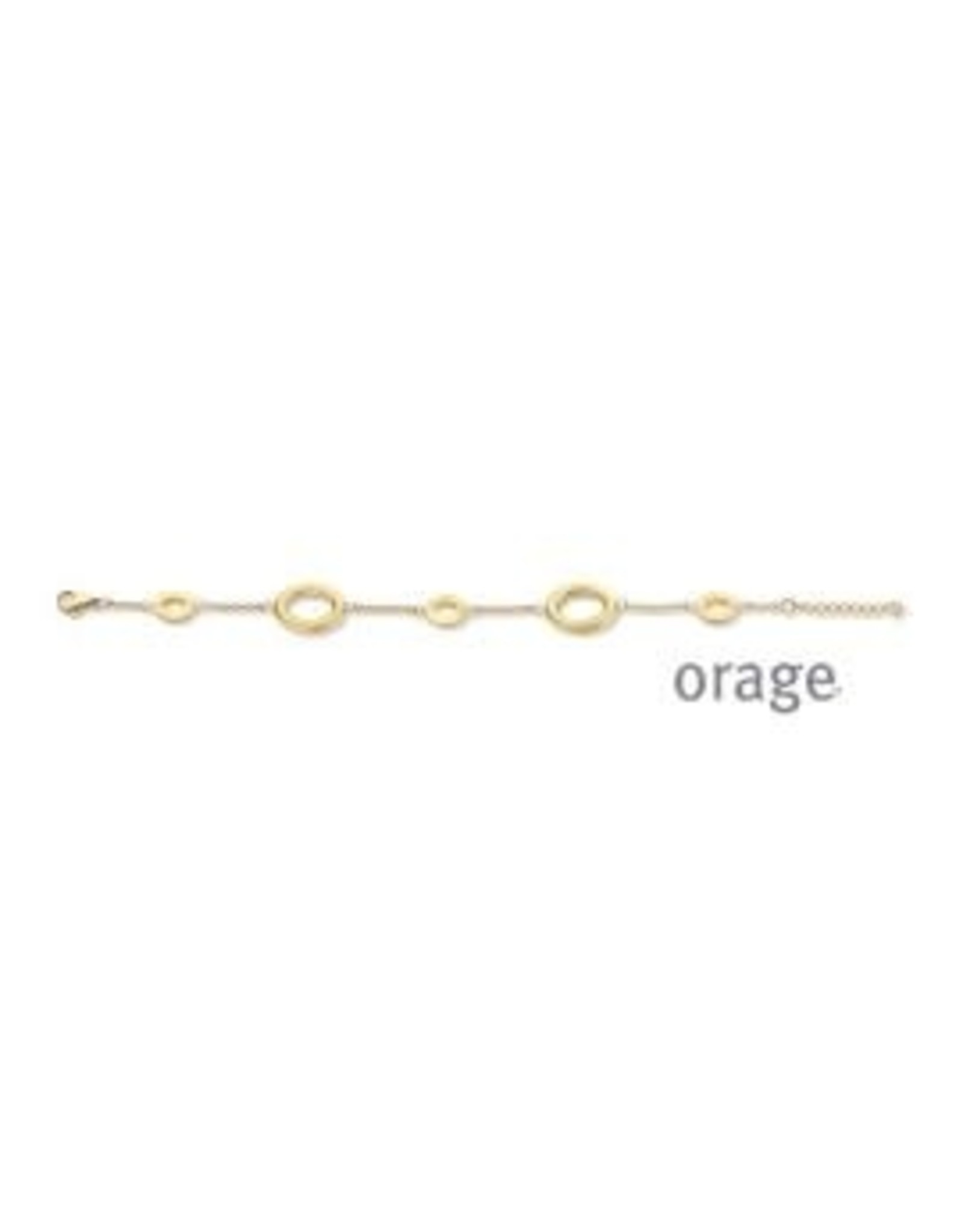 Orage Orage AN026 Armband Staal Goudkleurig
