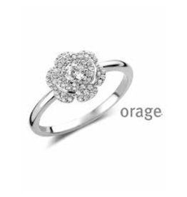 Orage Orage AN003-56 Ring Zilver Zirkonia