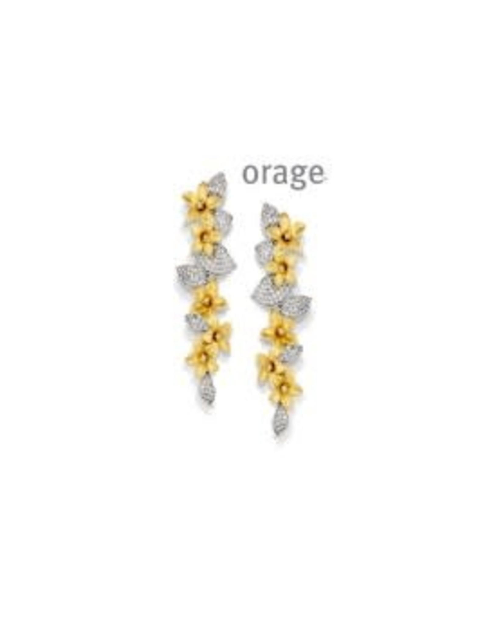 Orage Orage AP019 Oorslingers Zilver Bicolor
