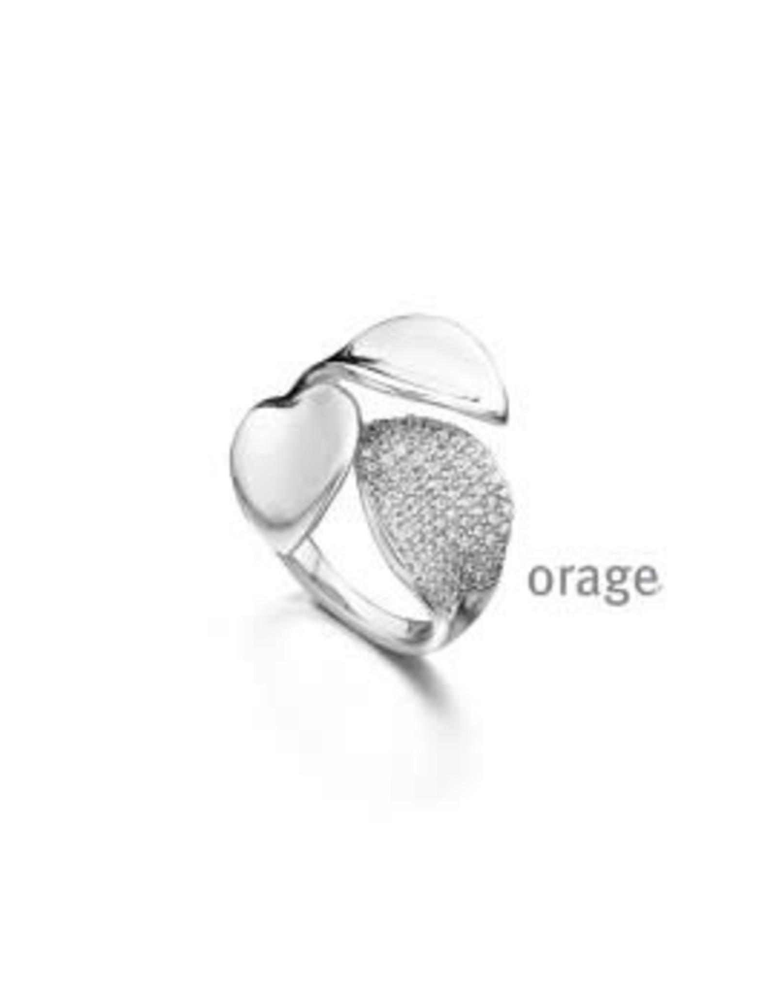 Orage Orage AP099/54 Ring Zilver Zirkonia