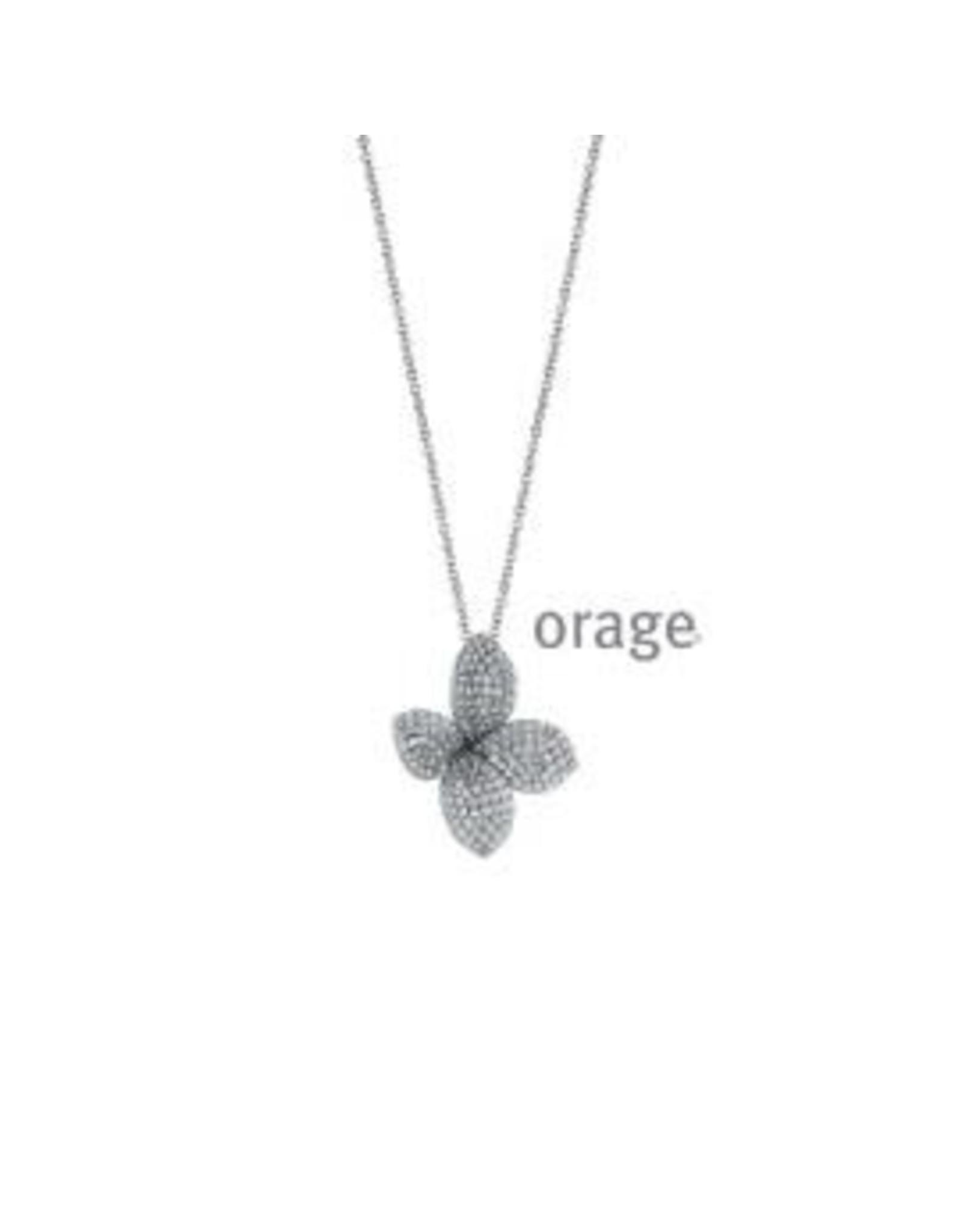 Orage Orage AP097 Halsketting Zilver Zirkonia