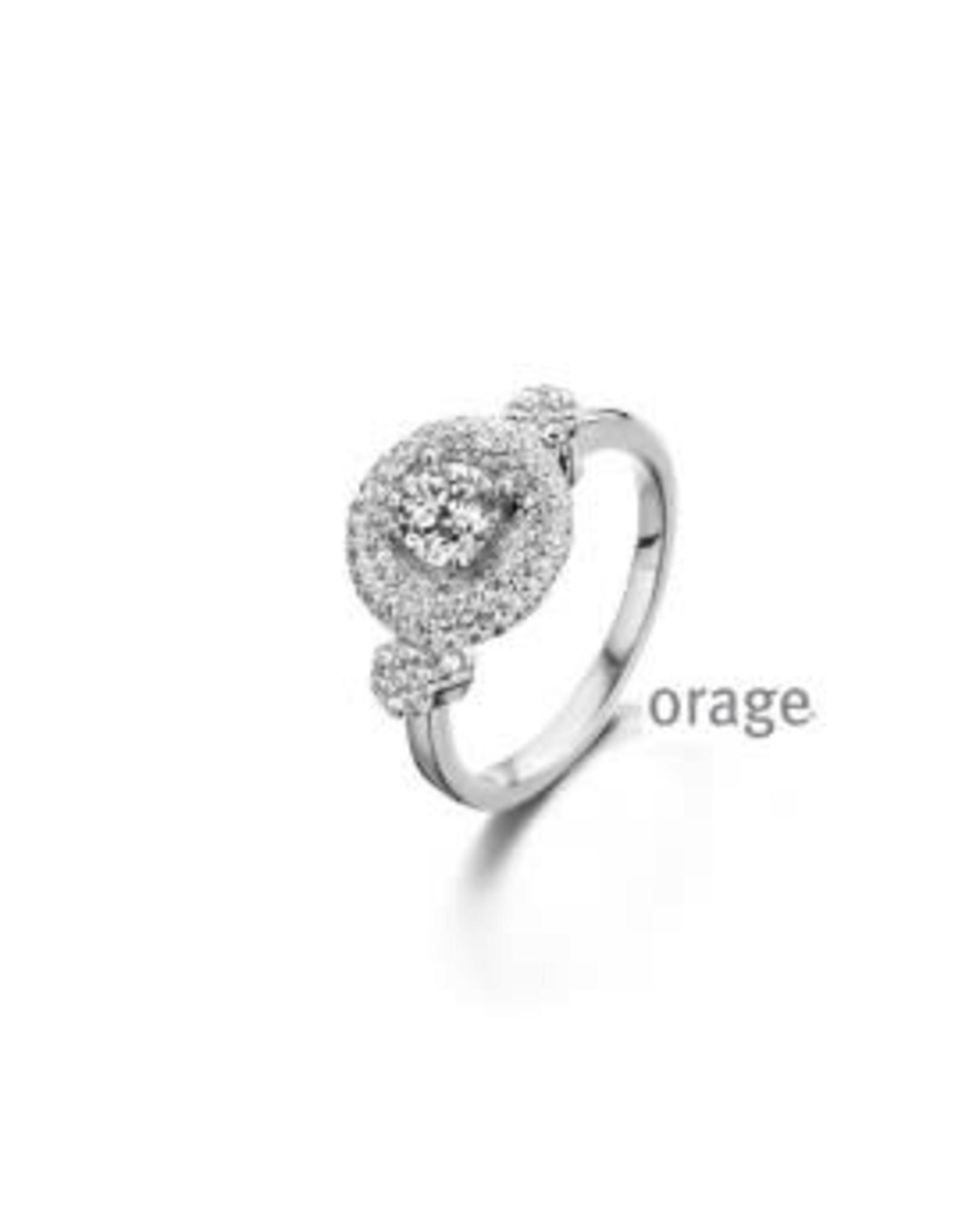 Orage Orage AP105-56 Ring Zilver Zirkonia