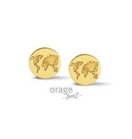 Orage Teenz Orage Teenz AP240 Zilver Goudkleurig Wereld