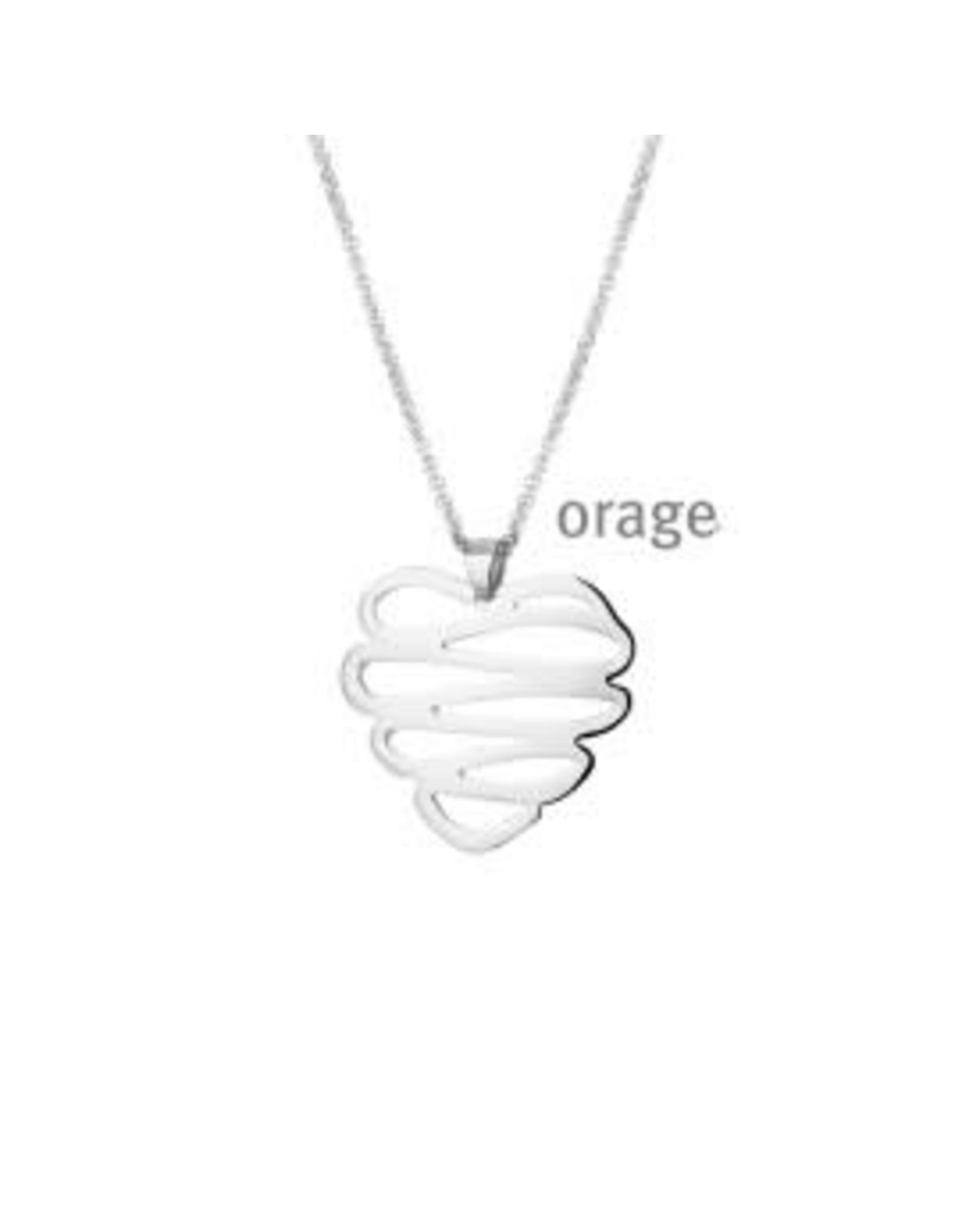 Orage Halsketting Orage K/2105/46 Staal