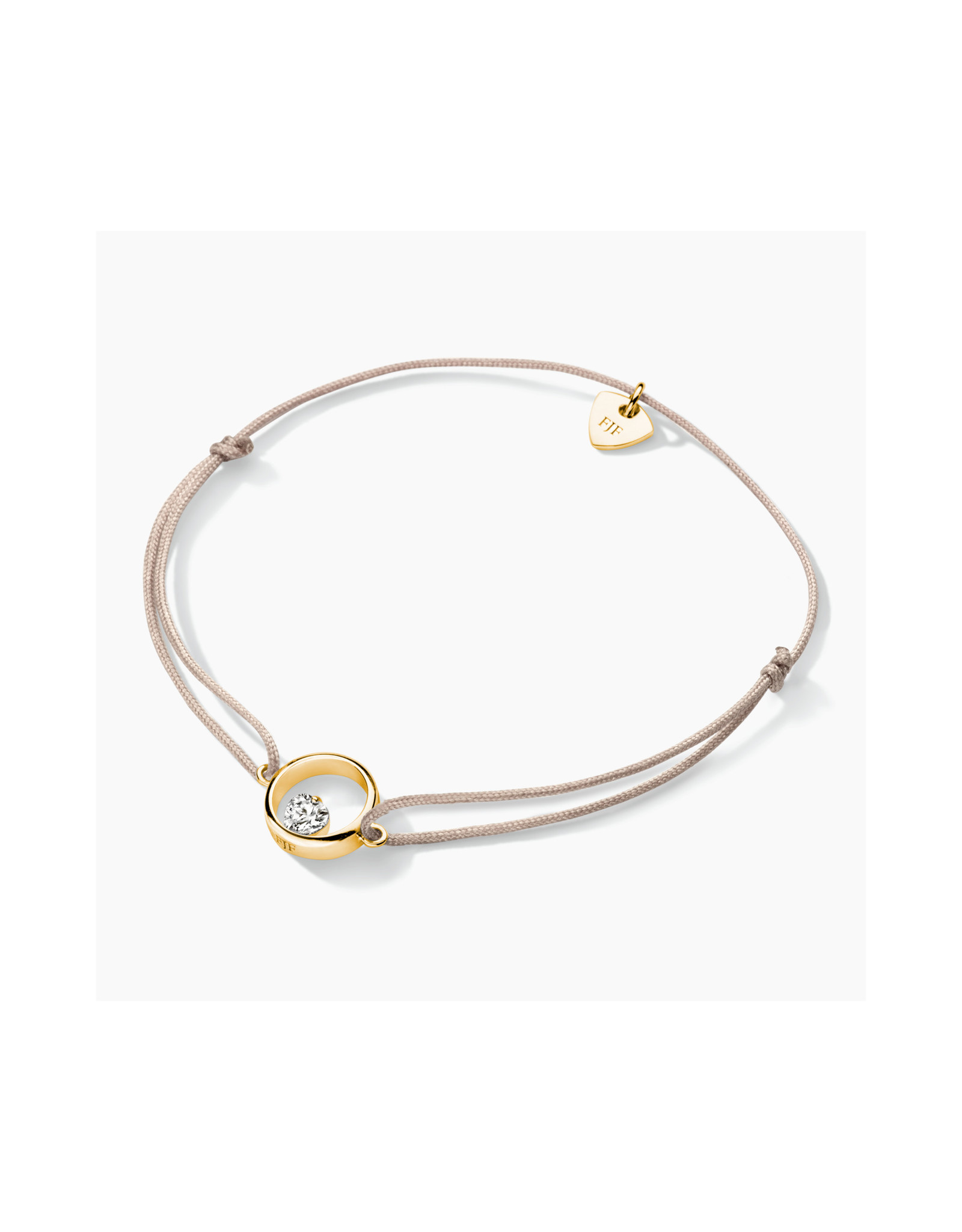 FJF Jewellery Armband FJF0060102YWH Zilver