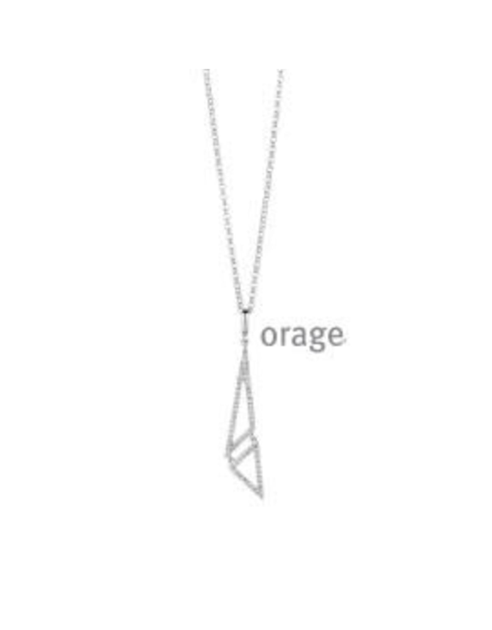 Orage Orage AF002 Halsketting Zilver
