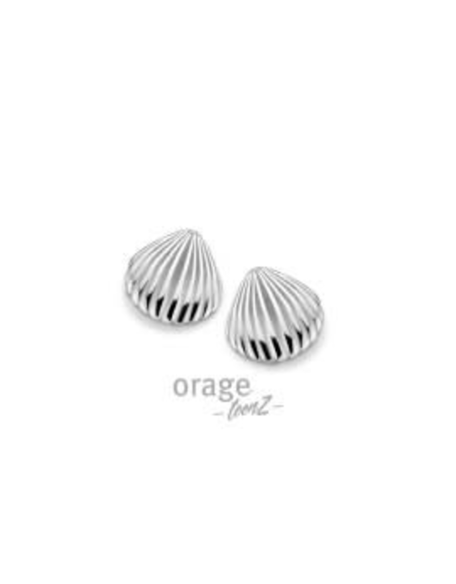 Orage Teenz Oorbellen Orage Teenz T422 Schelp Zilver