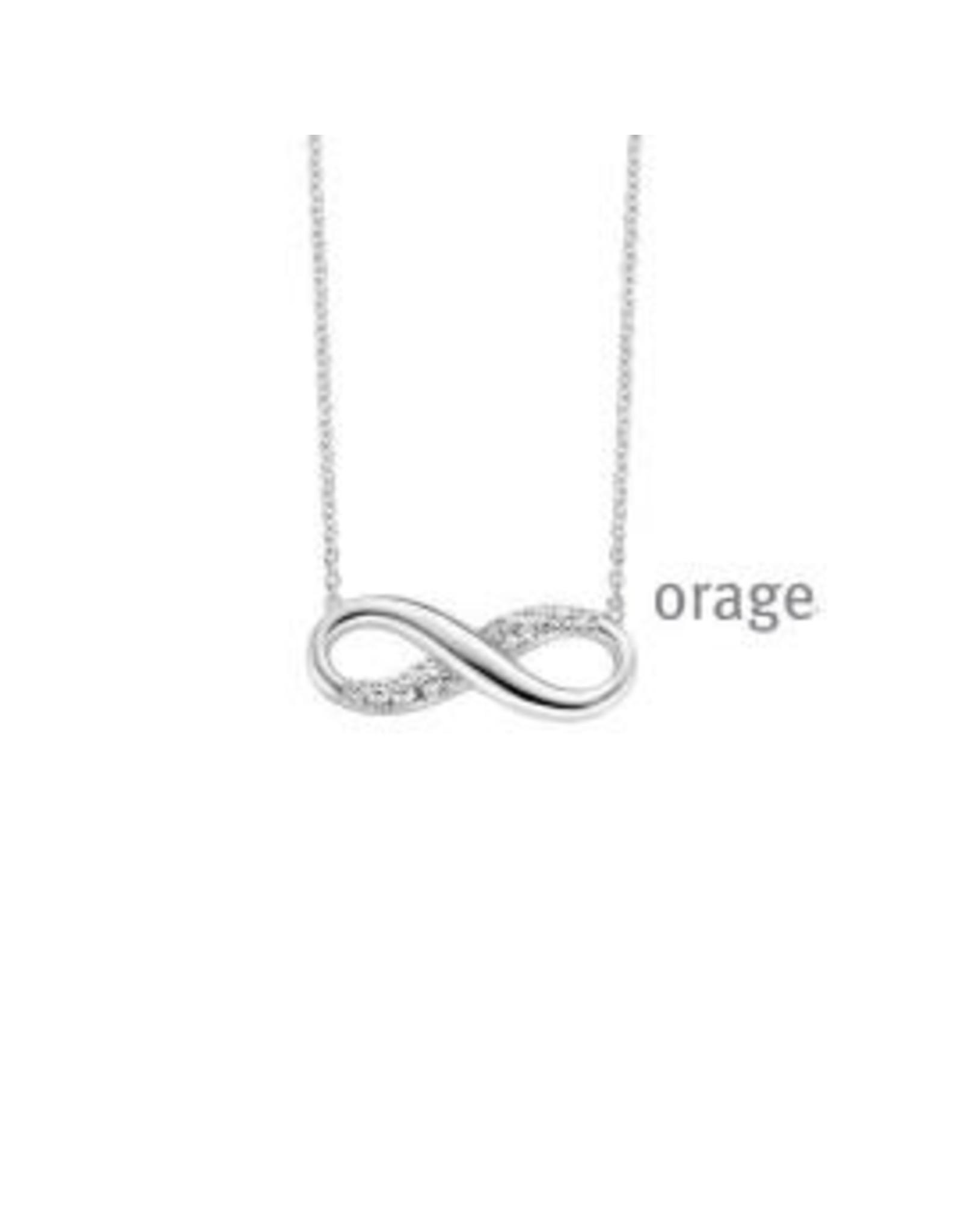 Orage Halsketting Zilver Orage V1413 Infinity
