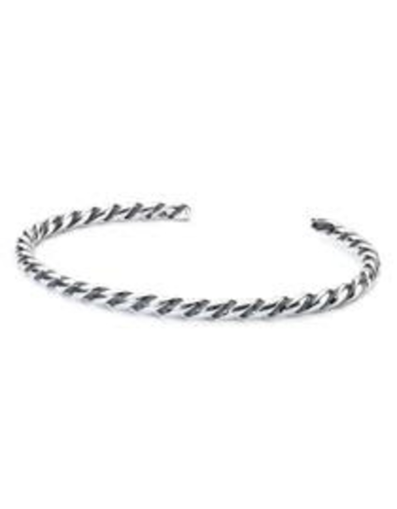 Trollbeads Trollbeads TAGBA-0008 Twisted zilveren bangle Small
