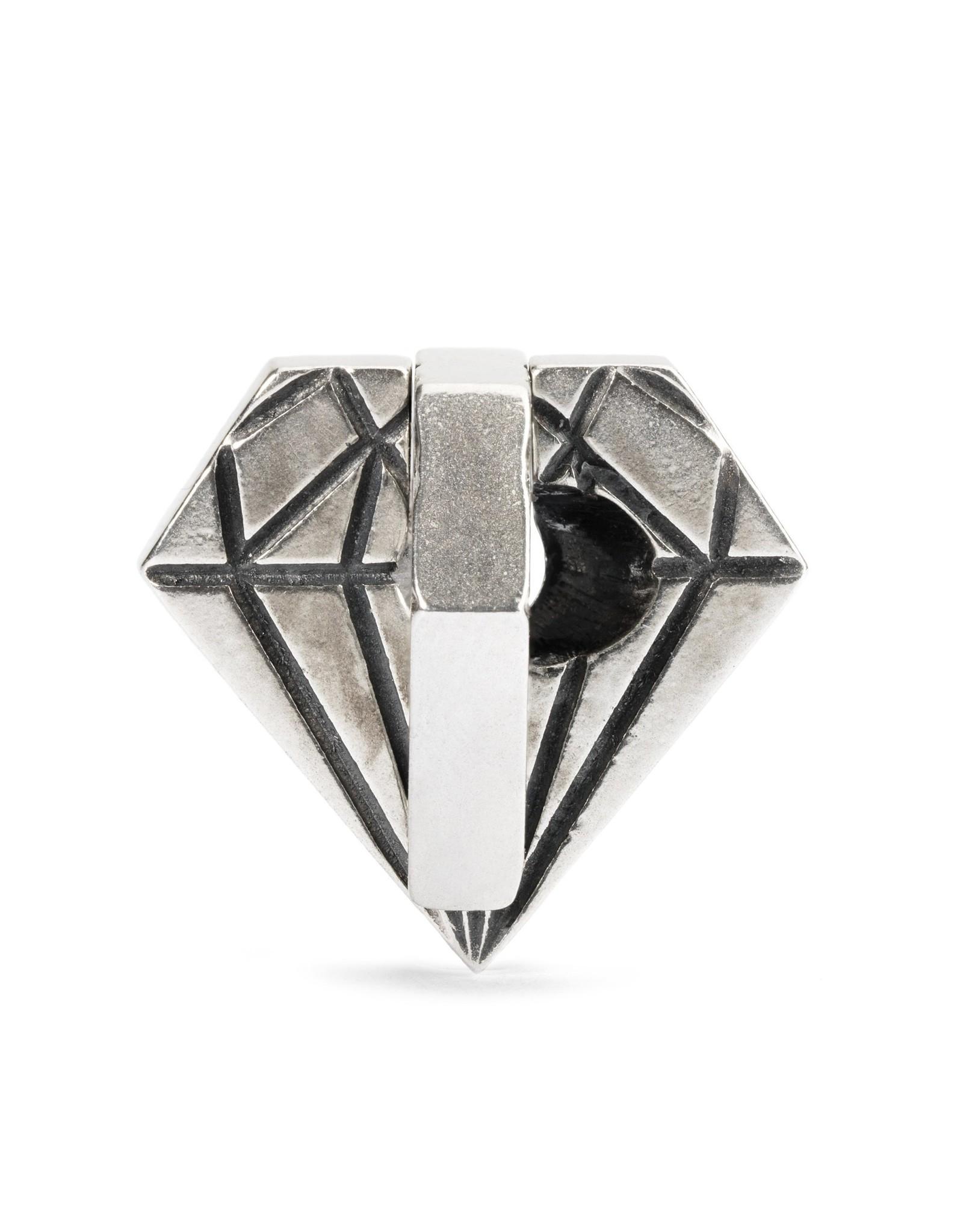 Trollbeads Trollbeads TAGBE-40039 Ruwe diamant