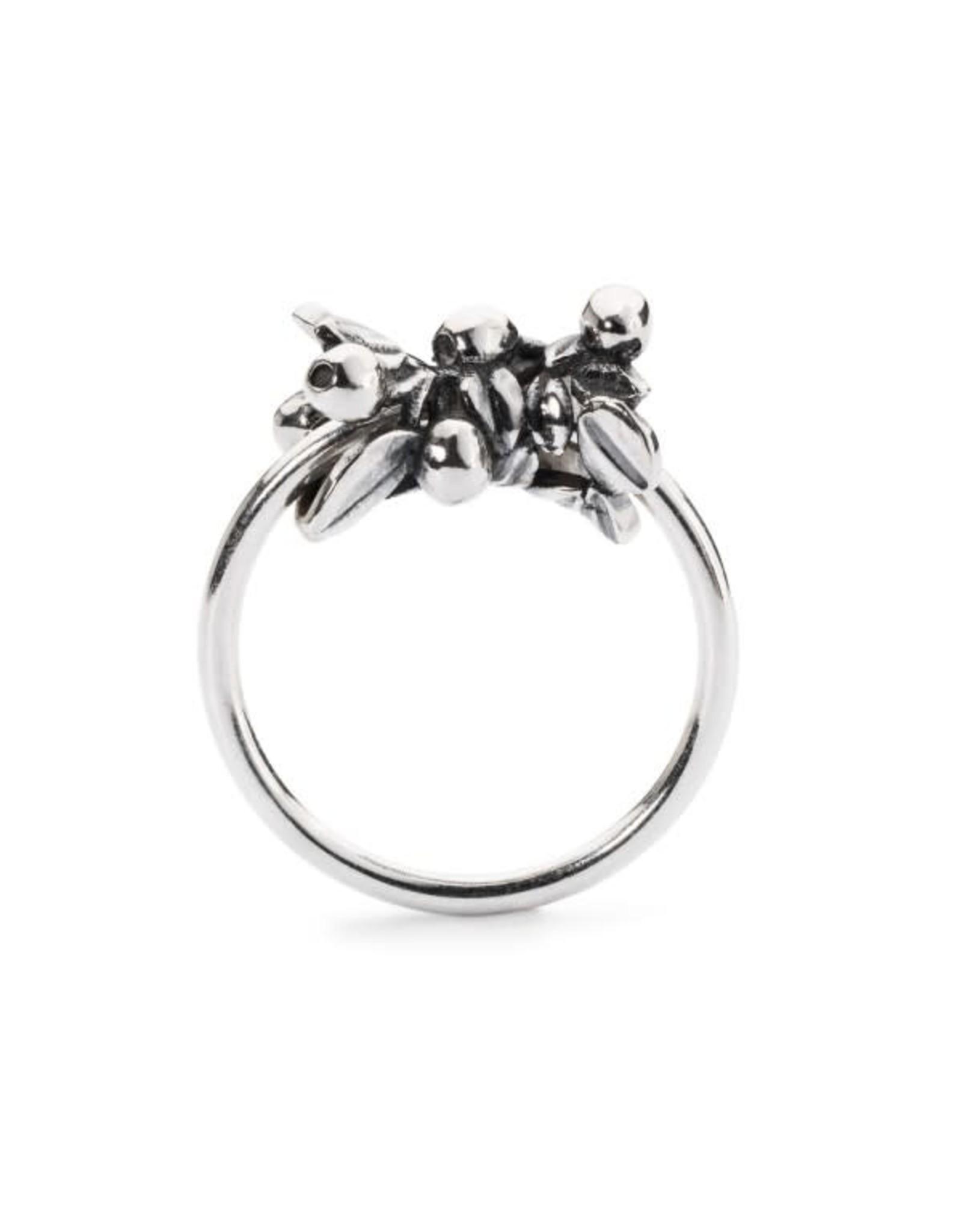 Trollbeads Trollbeads TAGRI-00274 Blauwe Besssen ring
