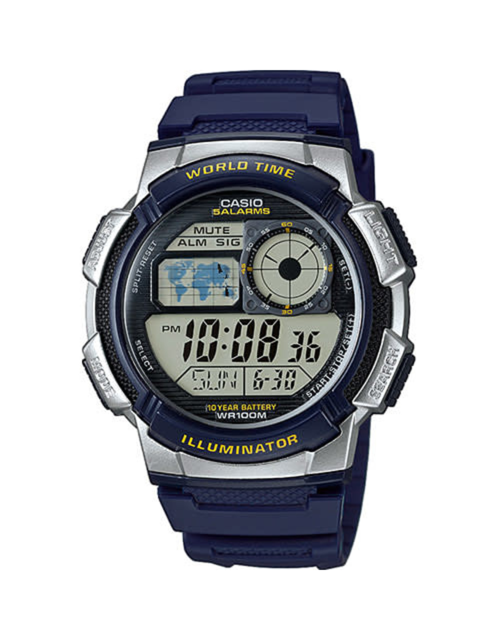 Casio Casio AE-1000W-2AVEF World Time