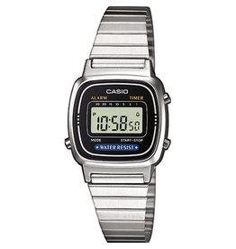 Casio Casio Retro LA670WEA-1EF Zilverkleurig