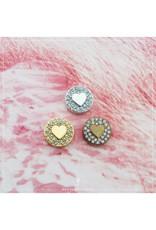Imotionals Hanger hart crystal zilver