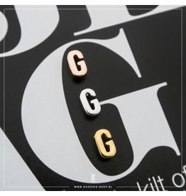 Imotionals Hanger Letter G zilver roos