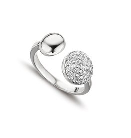 Silver Rose Ring Silver Rose Zilver R6358W-52