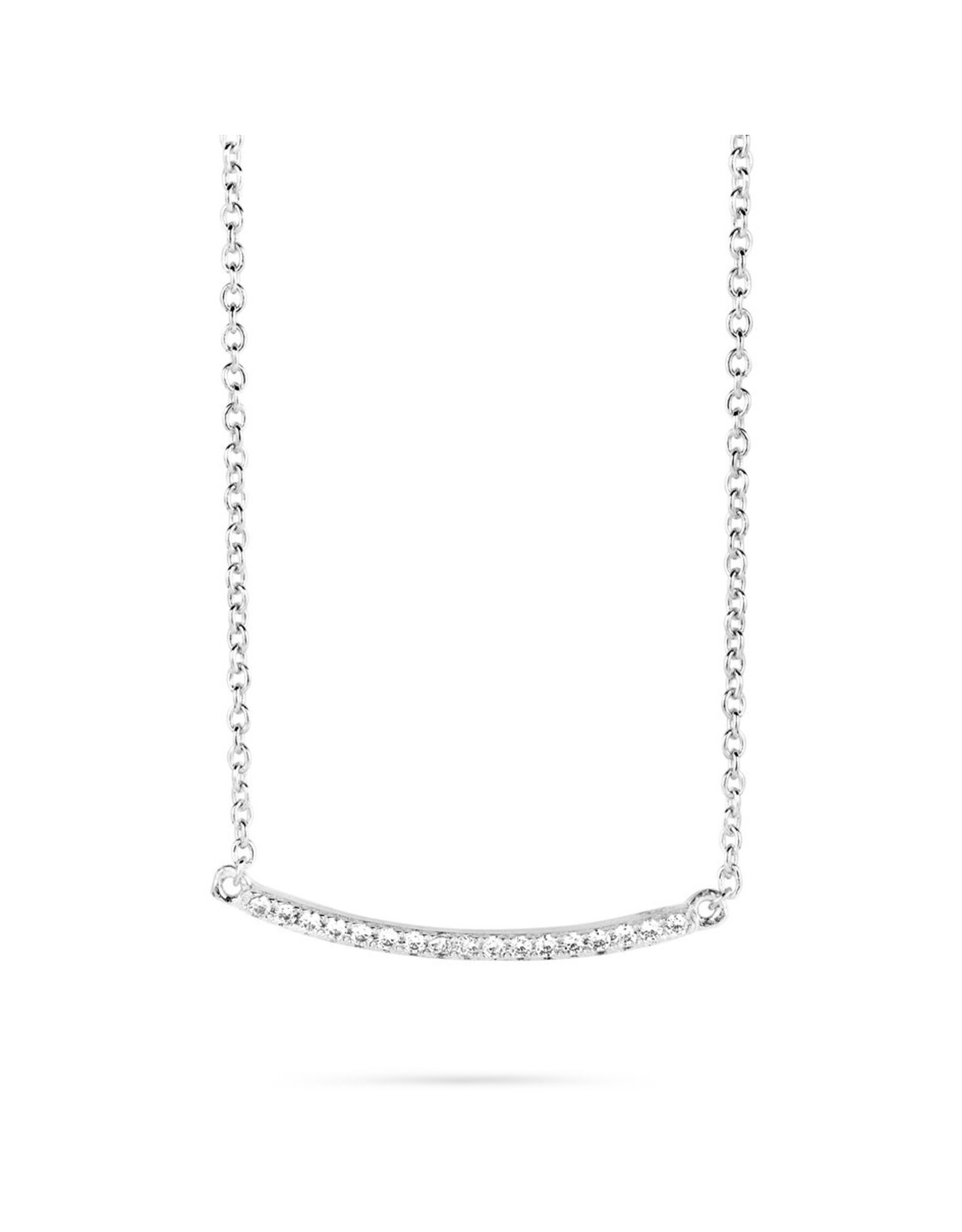 Silver Rose Halsketting Silver Rose Zilver CH6379W