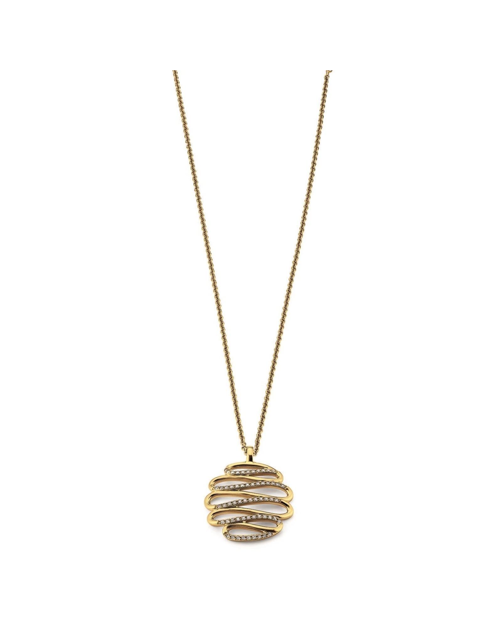 Viventy Halsketting Zilver goudkleurig Viventy VI/779052
