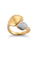 Viventy Ring Zilver goudkleurig Viventy V776791/54