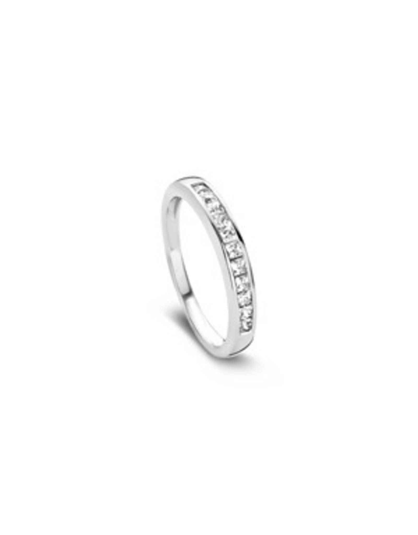 Nobless Ring Zilver 31-0256/52 Zirkonia