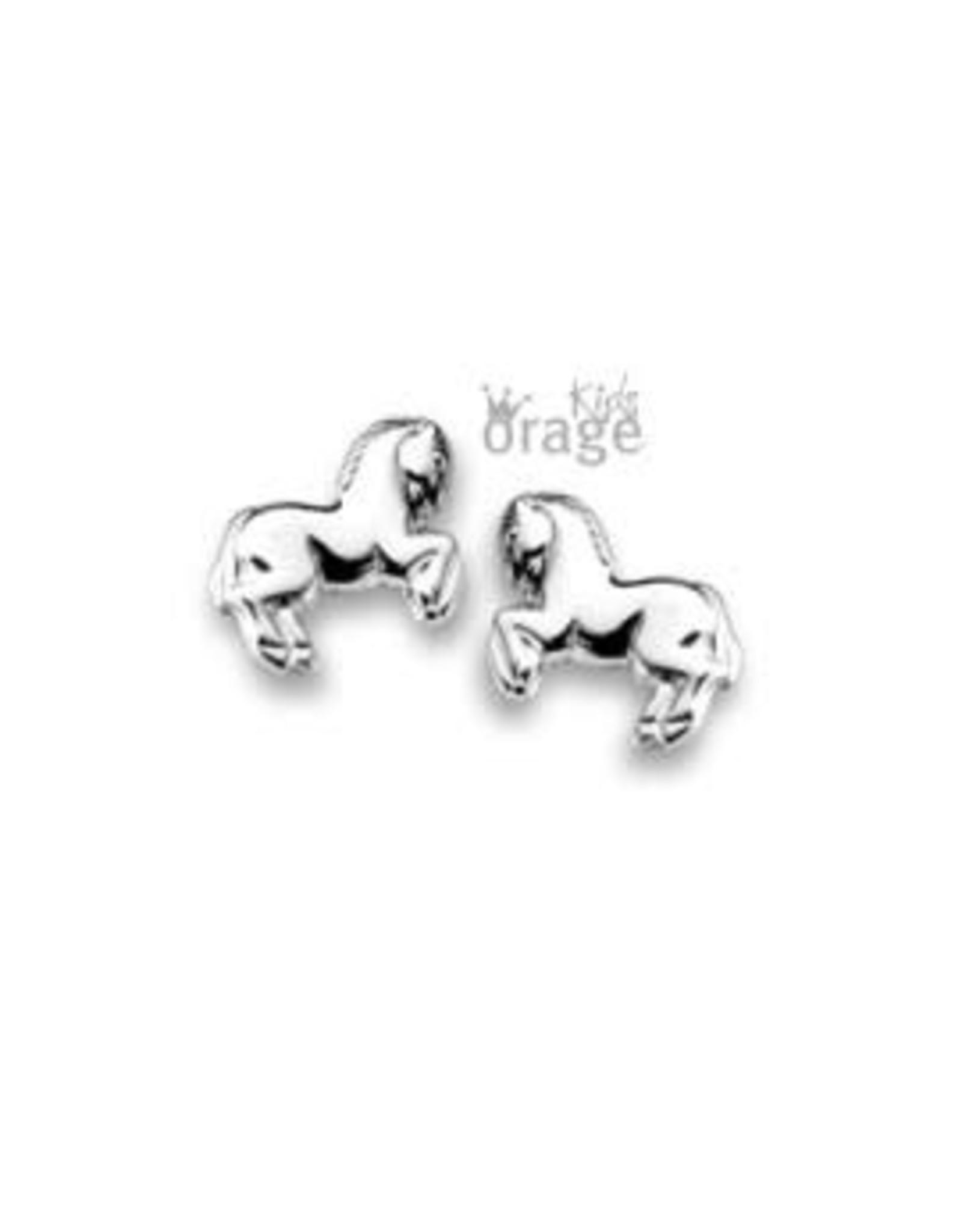 Orage Kids Oorbellen Orage Kids Zilver Paard K1672