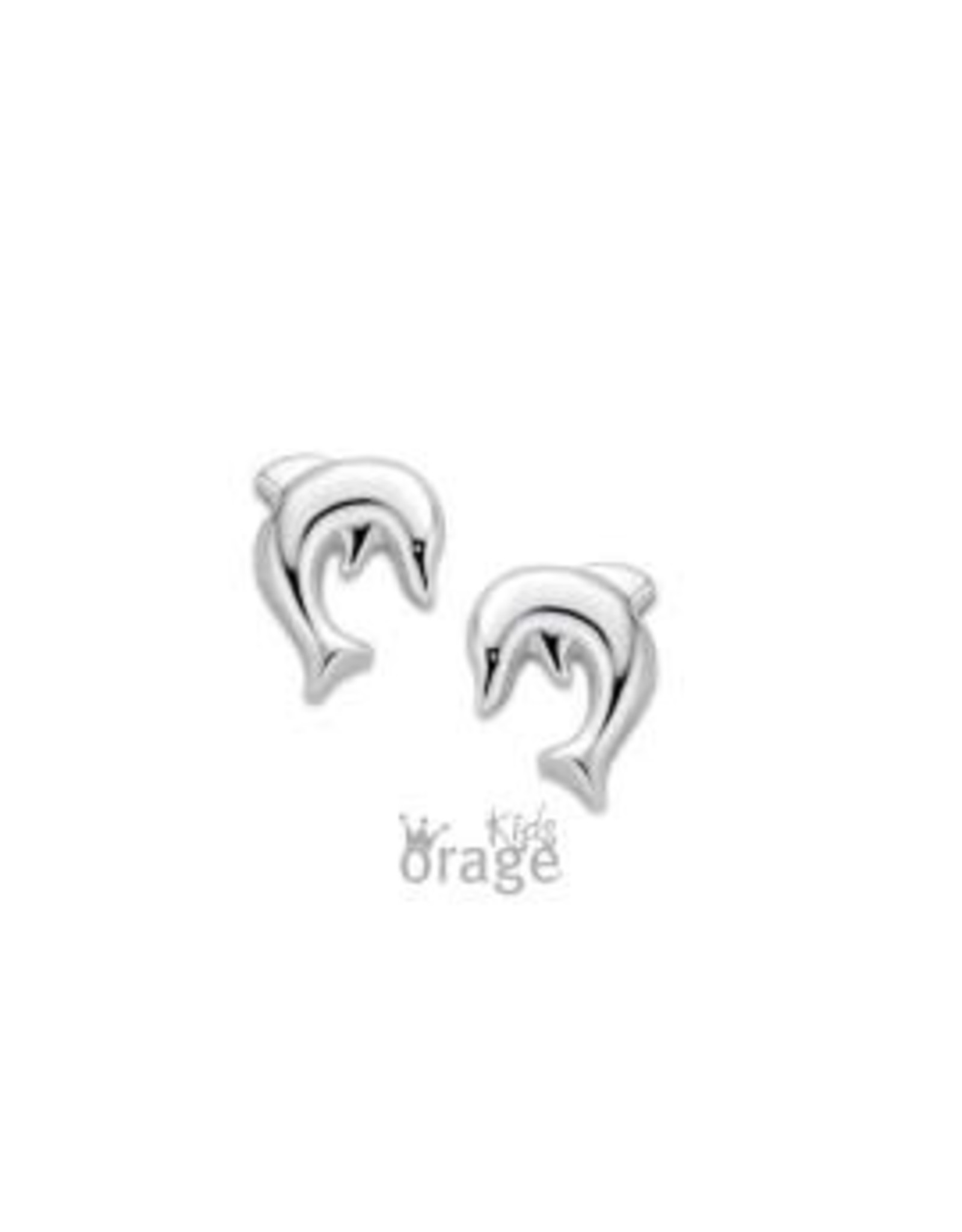 Orage Kids Oorbellen Orage Kids K2102 Dolfijn Zilver