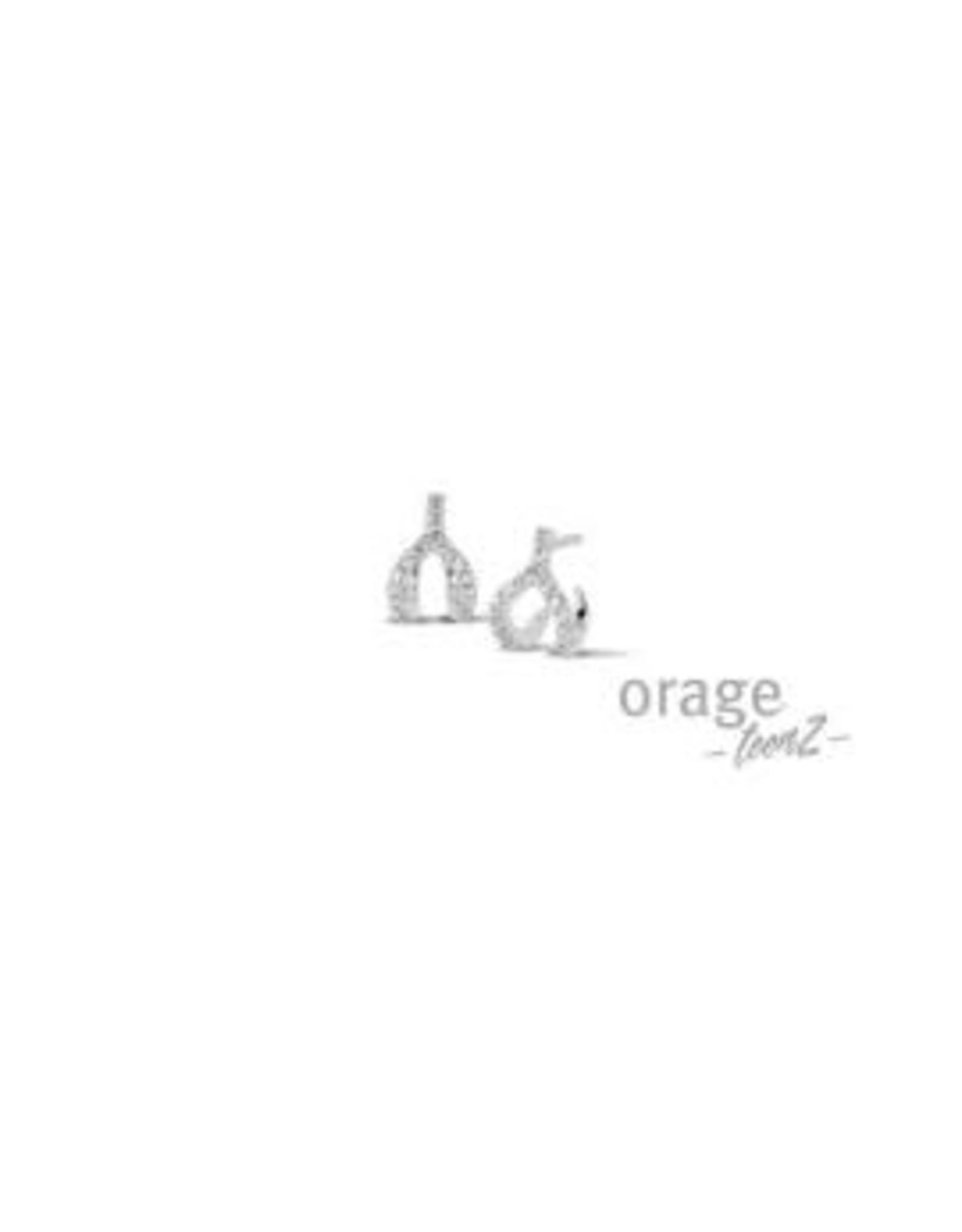 Orage Teenz Oorbellen Orage Teenz Zilver Wishbone T169