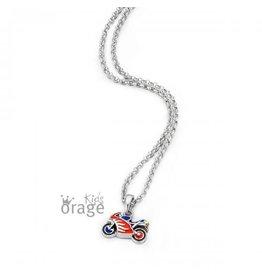 Orage Kids Orage K/4654/36-A Halsketting Zilver Moto