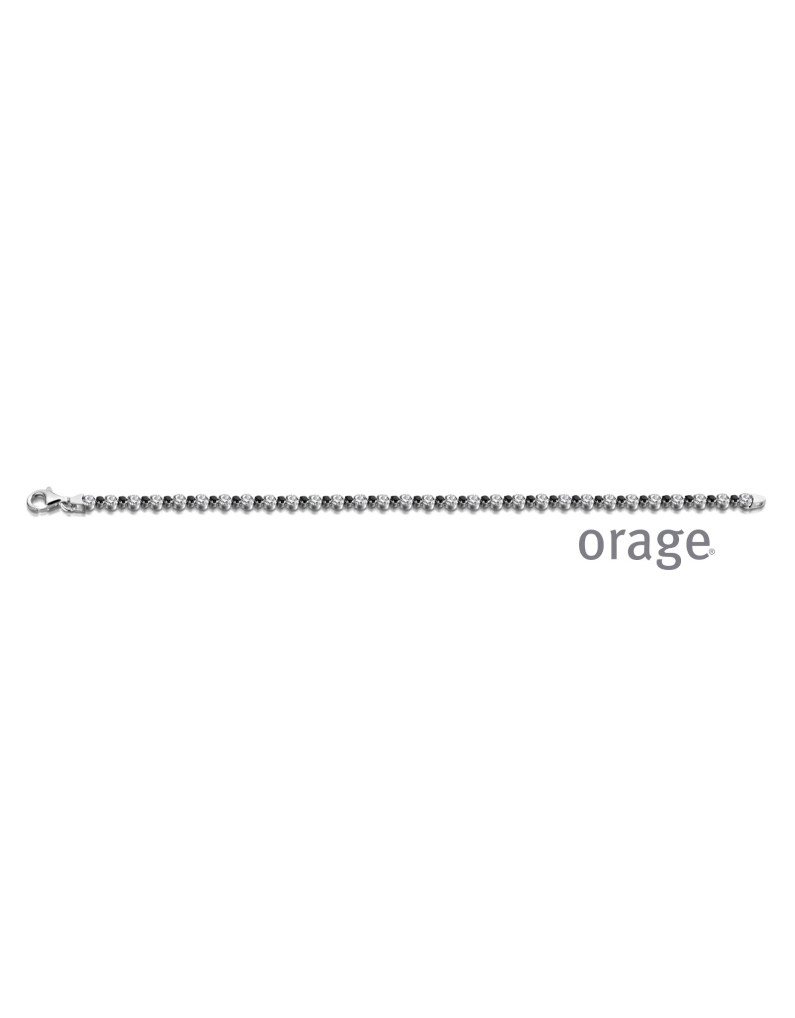 Orage Orage AP040 Armband Zilver Zirkonia