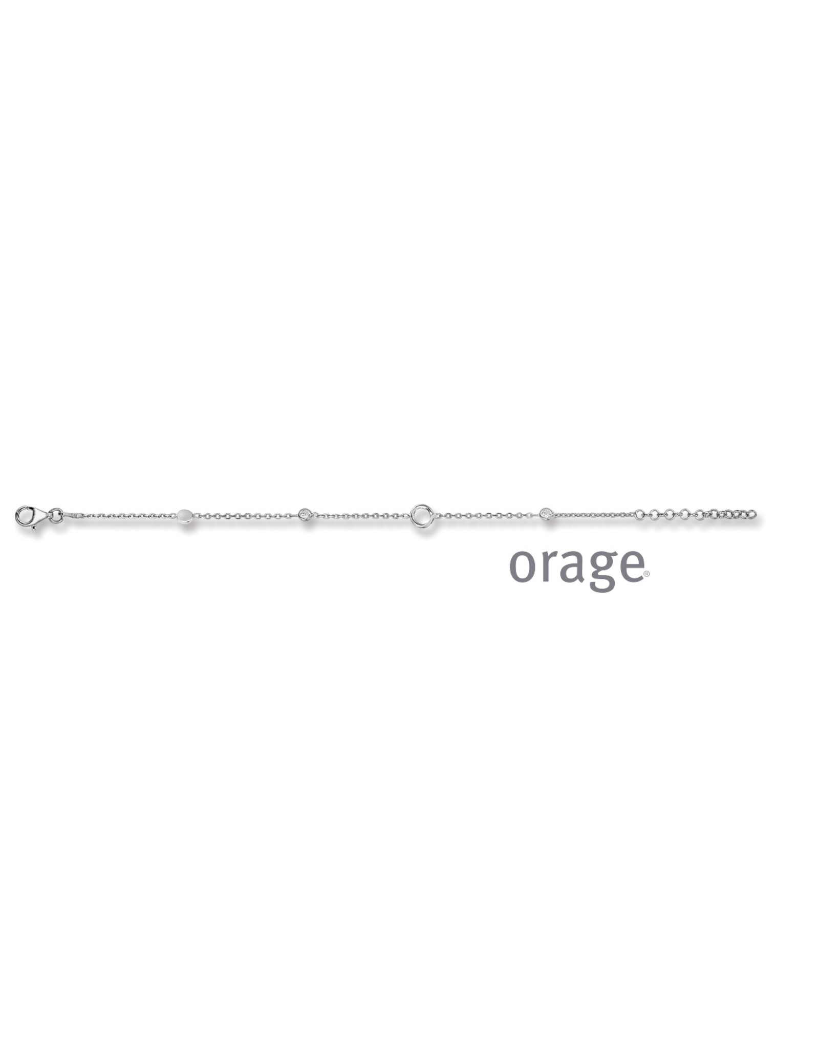 Orage Orage AP235 Armband Zilver Zirkonia
