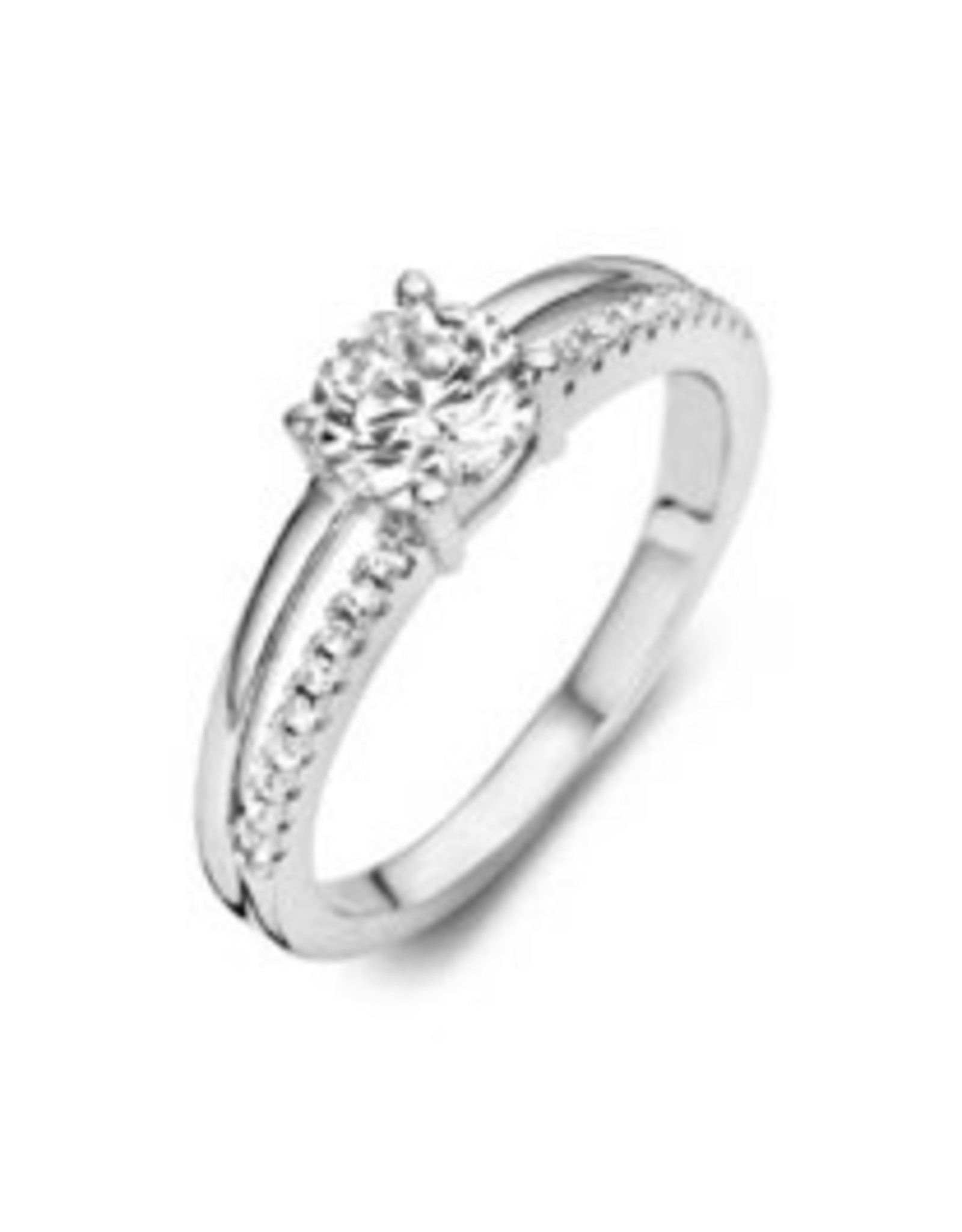 Silver Rose Ring Silver Rose R6312W-54