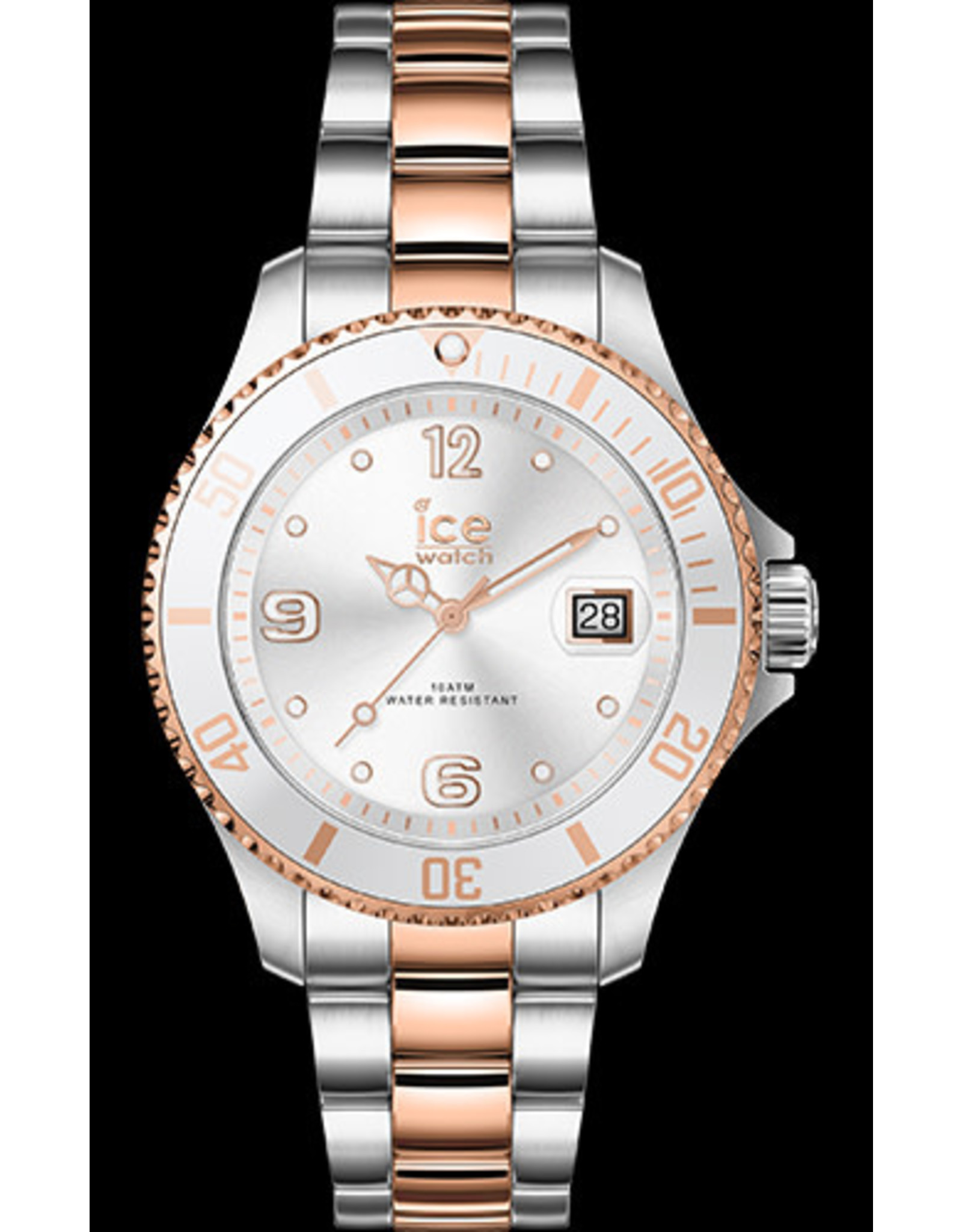 Ice Watch Ice Watch ICE Steel Women Bicolor Silver Rosé Gold 017322 Small