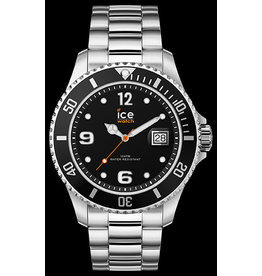 Ice Watch Ice Watch ICE Steel Black Silver 016031 Medium