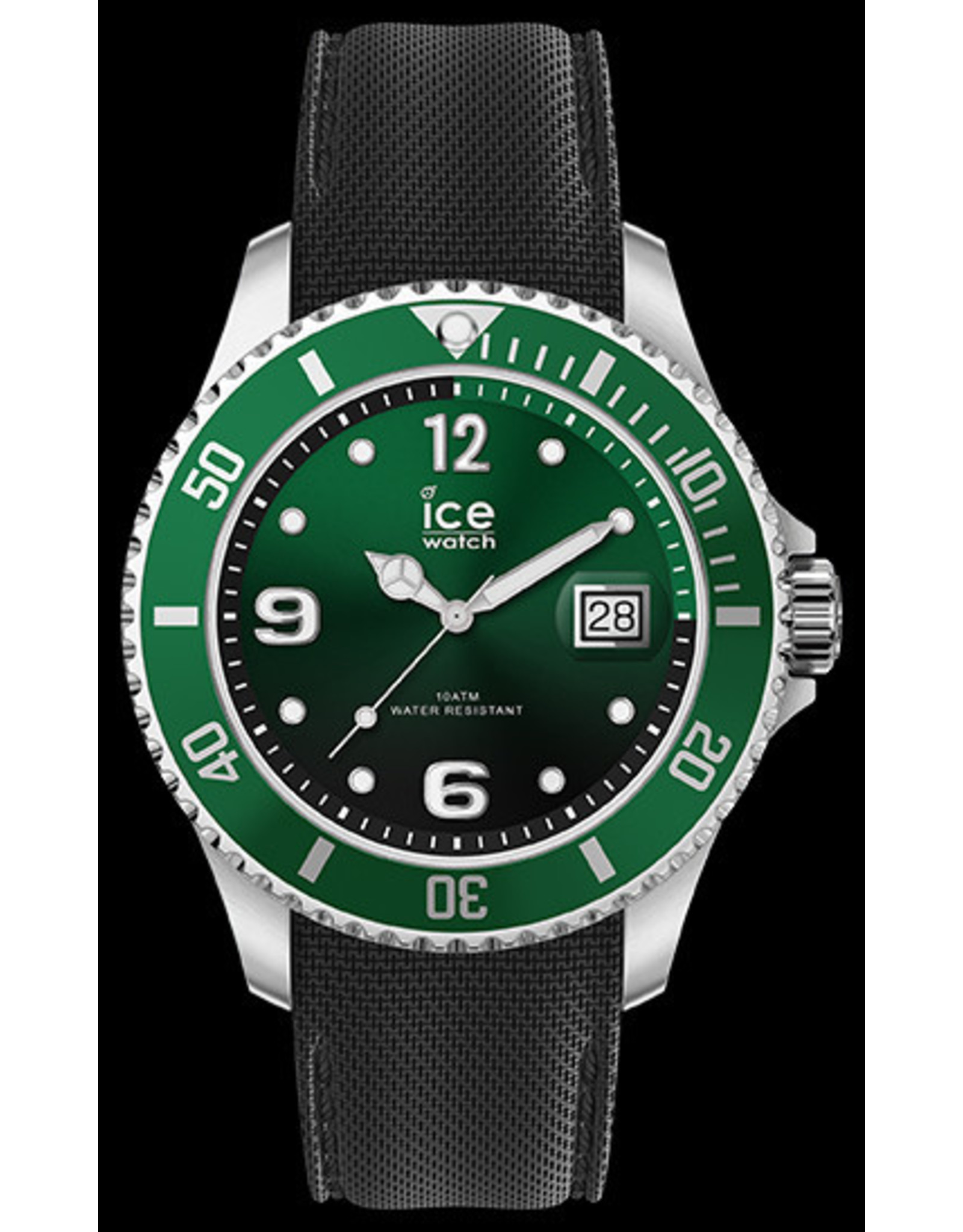 Ice Watch Ice Watch ICE Steel Green Black Silver Medium