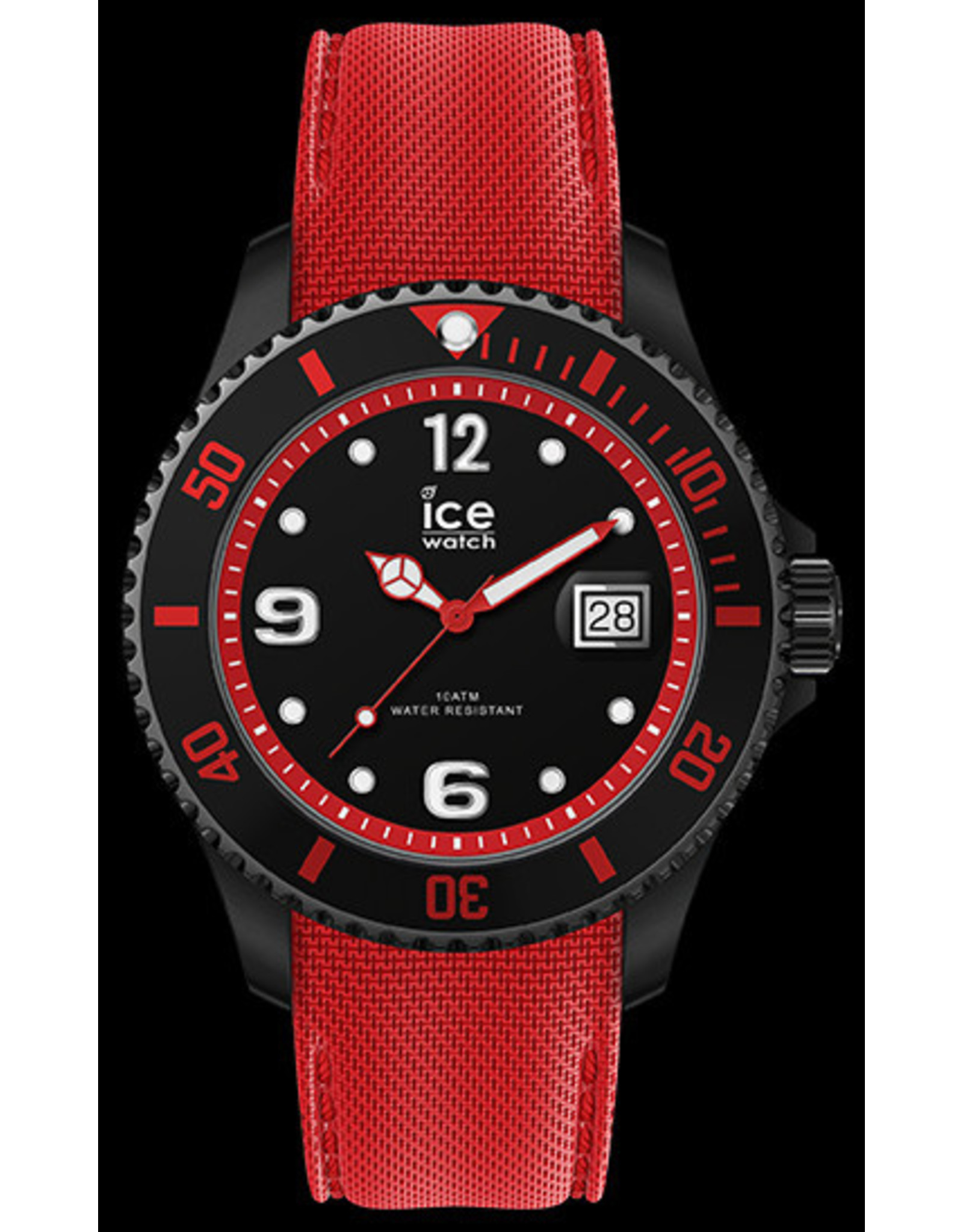 Ice Watch Ice Watch ICE Steel Black Red Large
