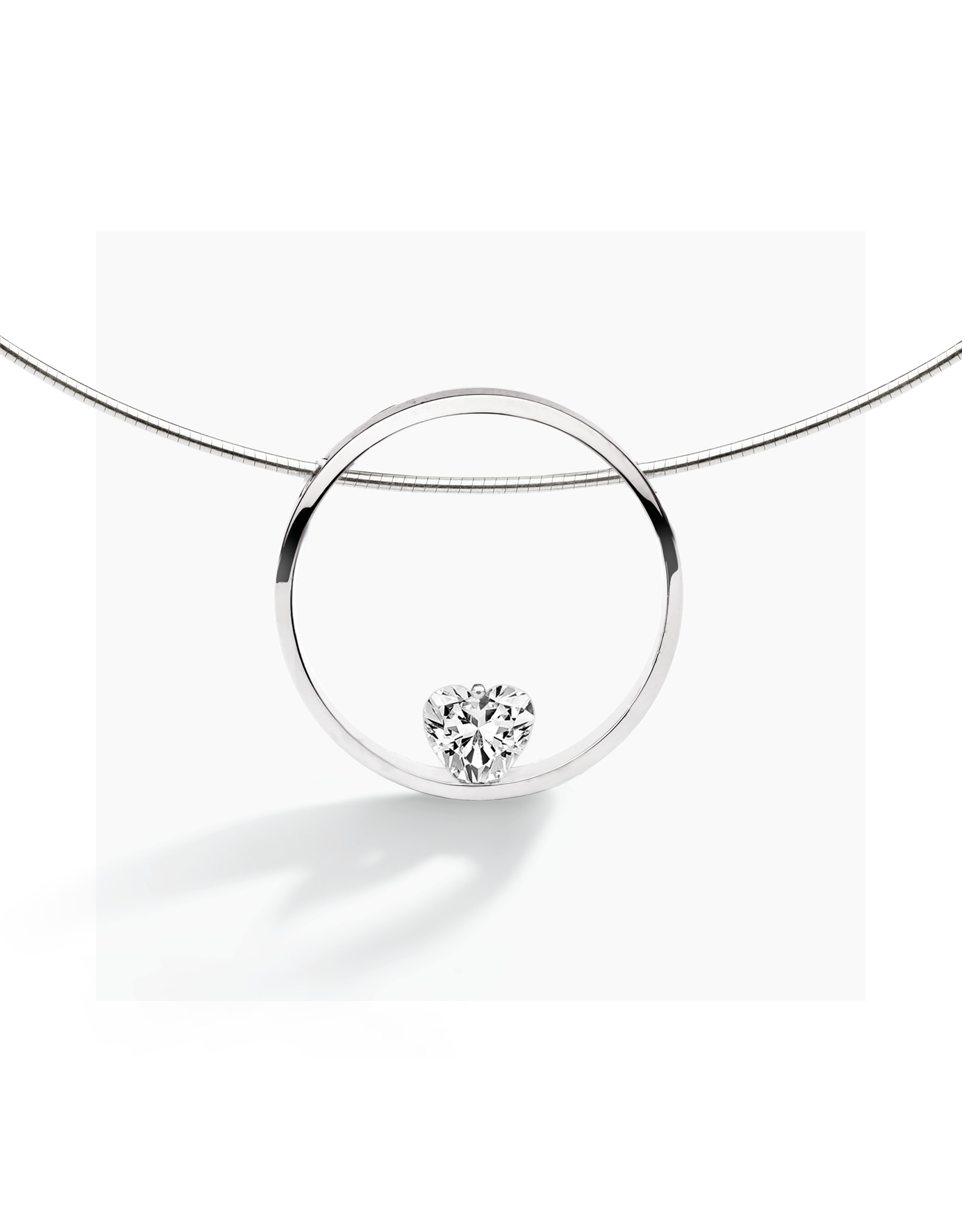FJF Jewellery Collier FJF0010001SWH Zilver