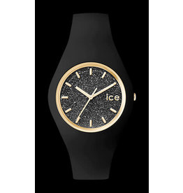 Ice Watch Ice Watch ICE Glitter Black Rosé Medium