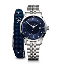 Victorinox Victorinox 241802.1 Alliance Blue Dial with Swiss Army knife - Gift Box
