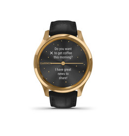 Garmin Garmin 010-02241-02 Vivomove Luxe Gold Black