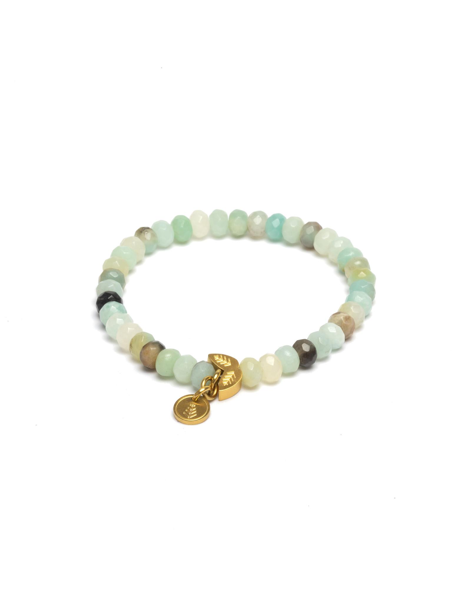Didyma Armband Didyma AL5S Alinda 3 Colours Amazonite