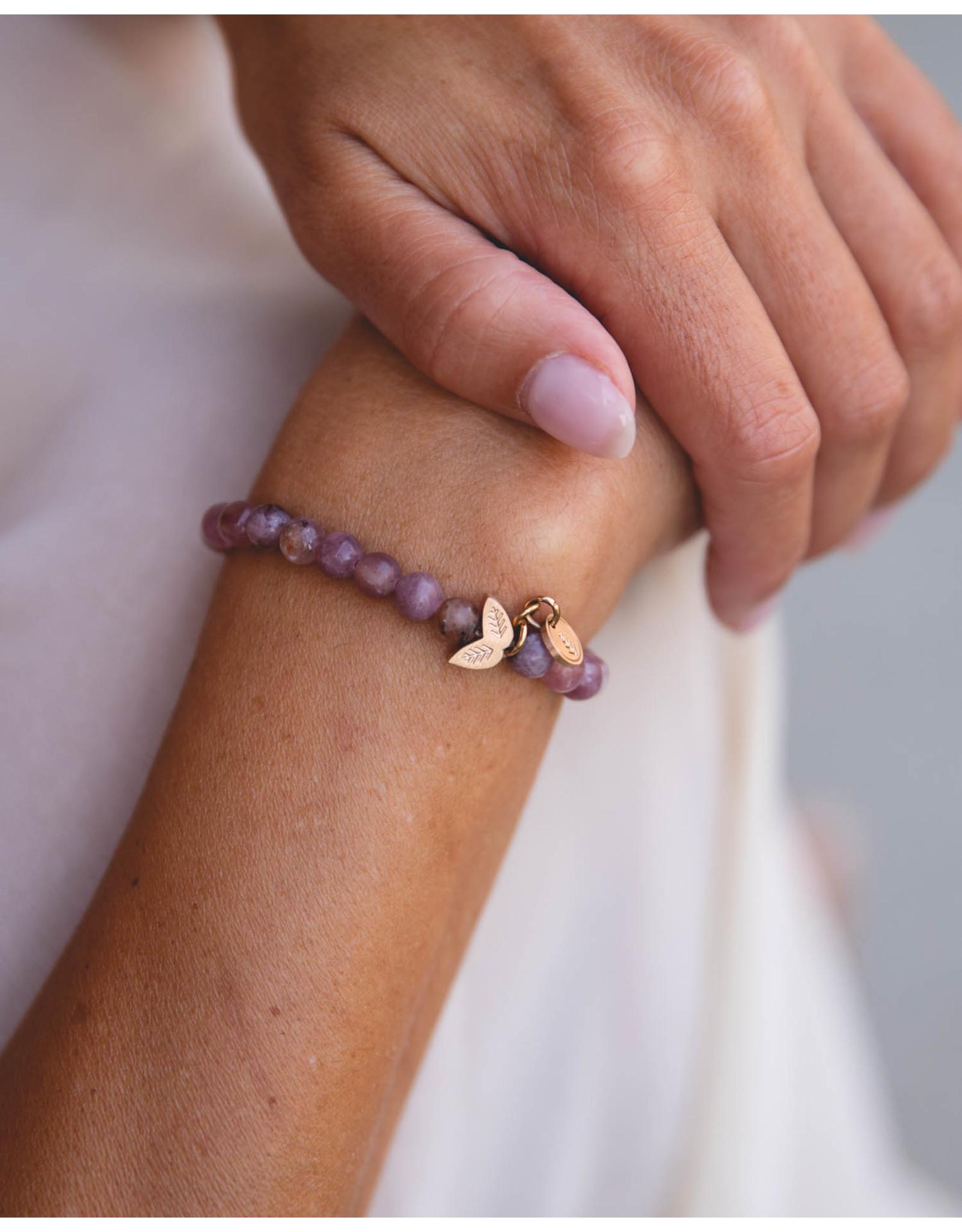 Didyma Armband Didyma NE3S Nea Purple Lepidolite