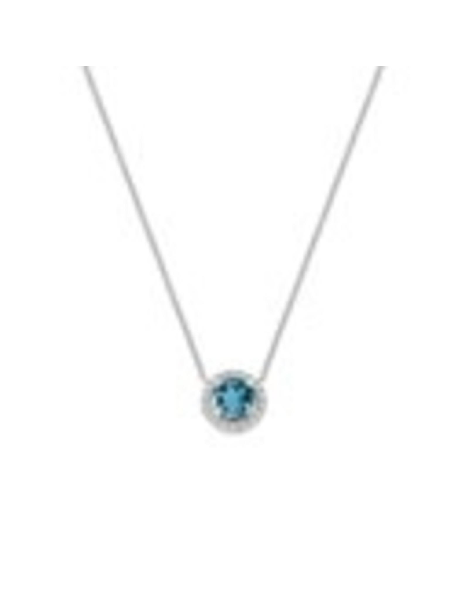 Diamanti Per Tutti Aurora Necklace - Zilver Briljant - 40 cm
