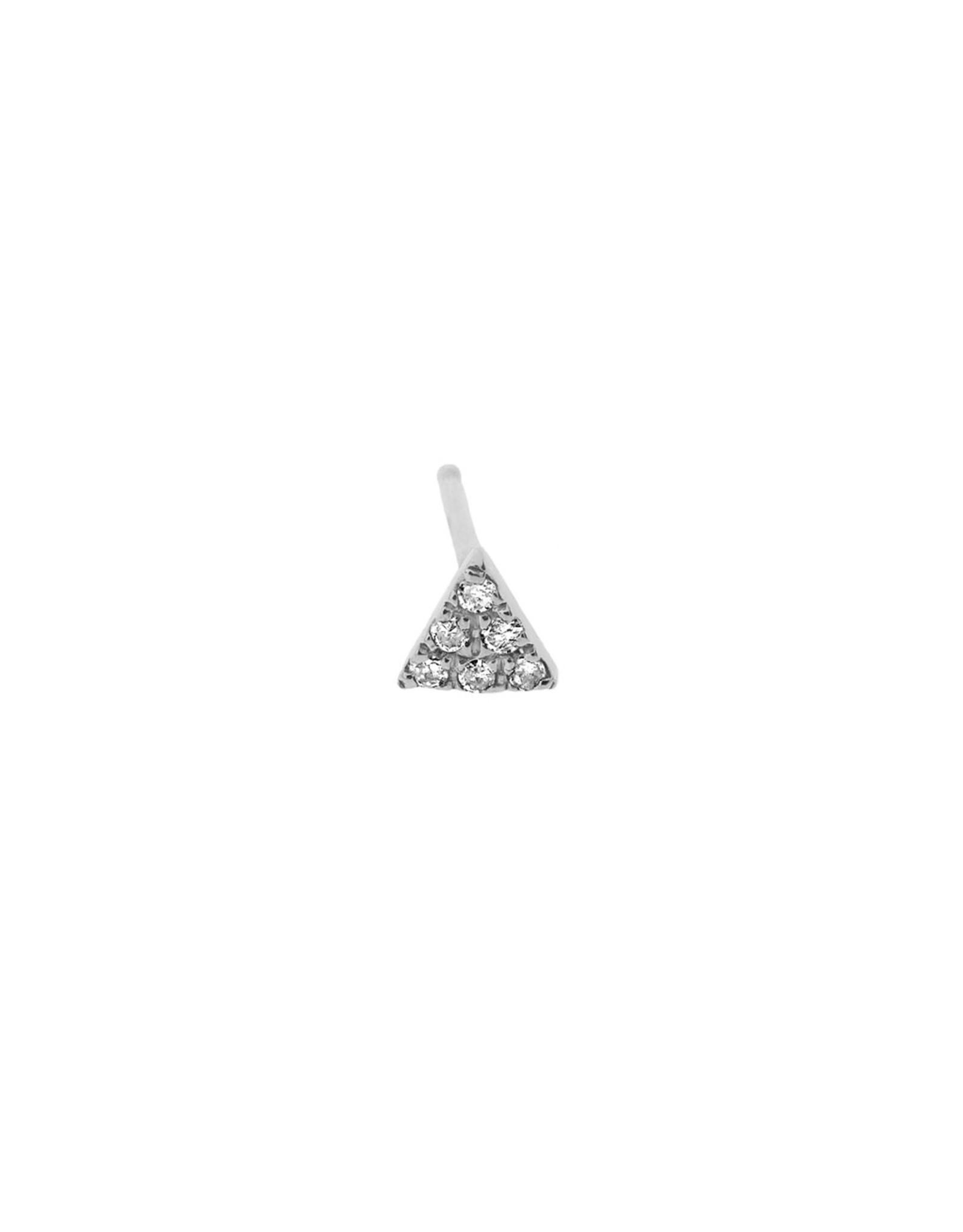 Diamanti Per Tutti Conscious Earring (Single) - Zilver Briljant
