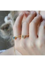 Diamanti Per Tutti Drip Ring - Zilver Goudkleurig Briljant - 54