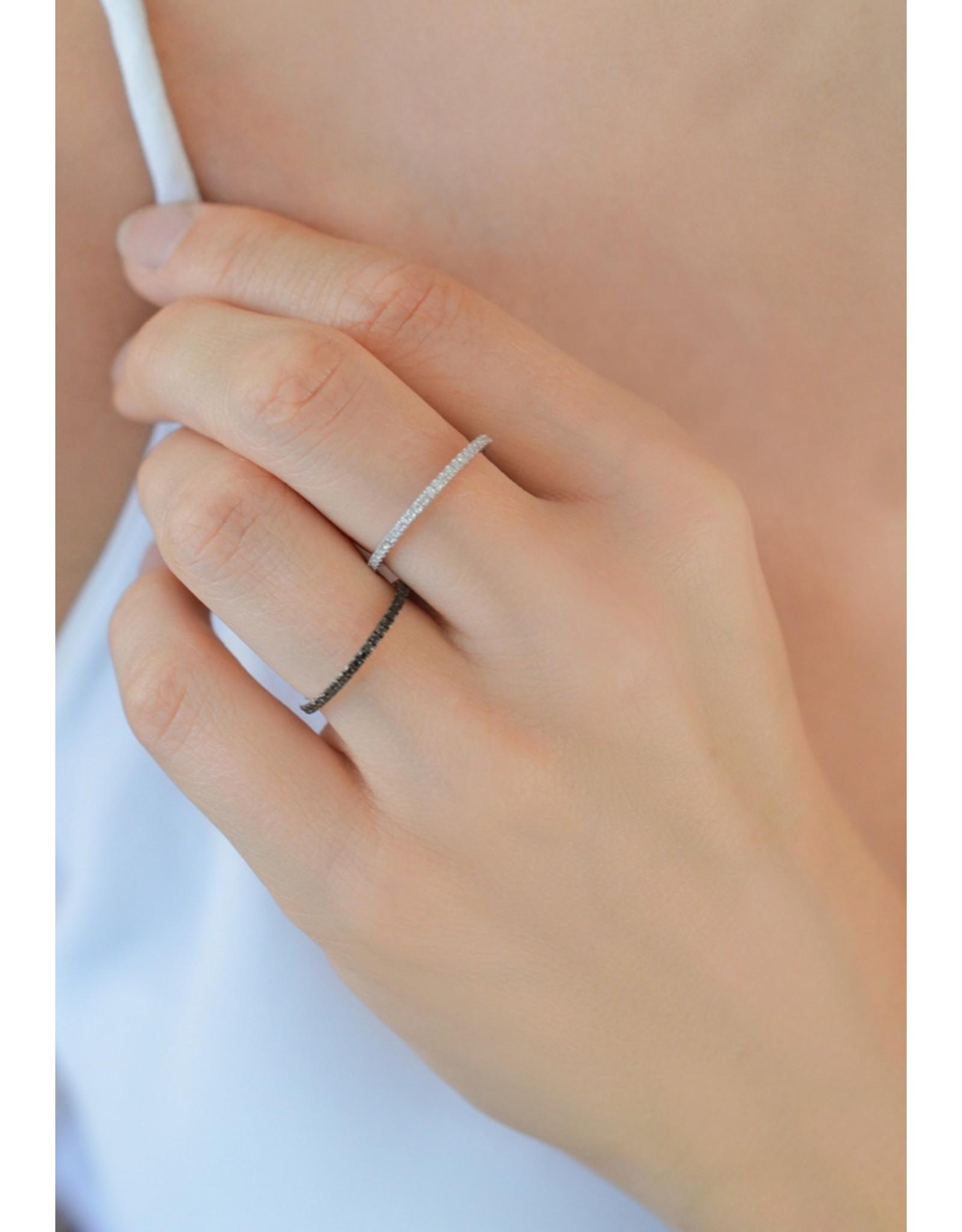 Diamanti Per Tutti Endless Diamond Ring - 54 - Zilver Briljant