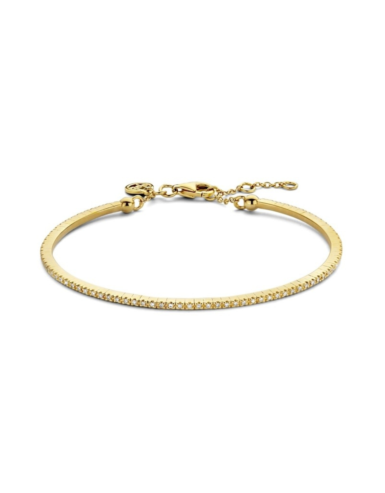 Diamanti Per Tutti Endless Diamonds Bracelet - 16 cm - Zilver Goudkleurig Briljant